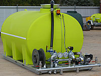 8000Ltr water spraying truck unit