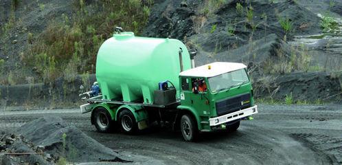 water cartage truck