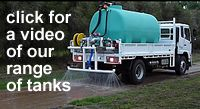 video of poly water cartage tanks