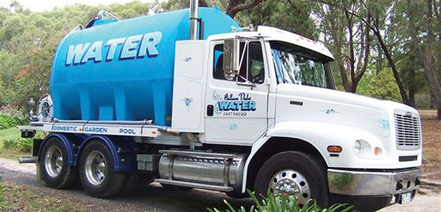 water cartage
